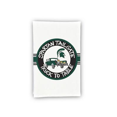 Michigan State Truck Hand Towel