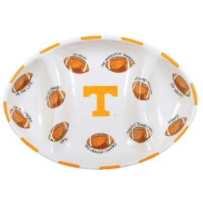 Tennessee Magnolia Lane Football Platter