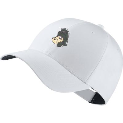 Michigan State Nike Golf Vault Logo Dri-Fit Tech Cap WHITE