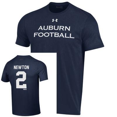 Auburn Under Armour Cam Newton Football Tee