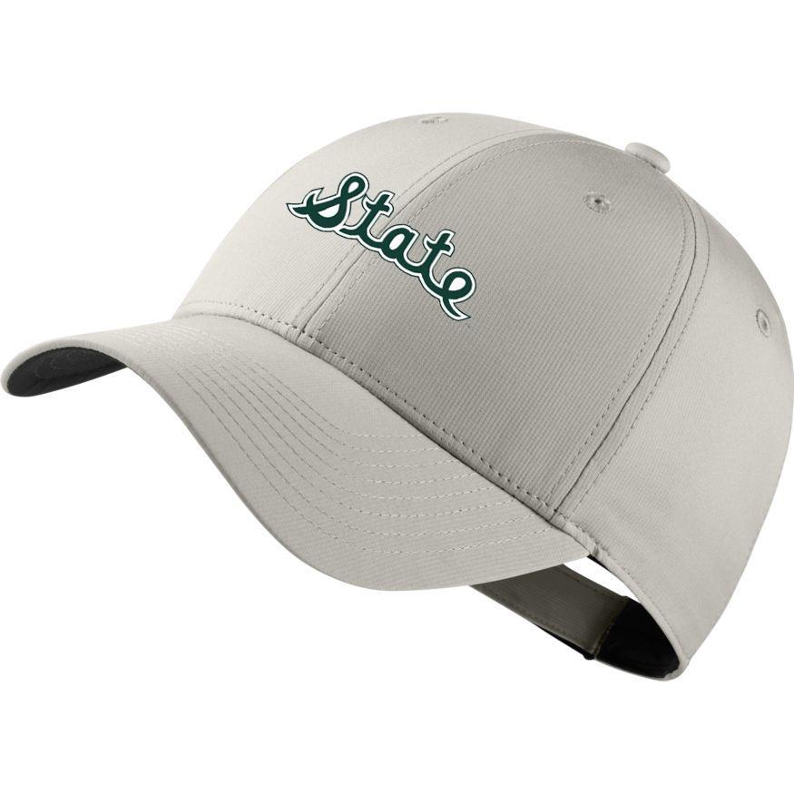 Michigan State Nike Golf Script State Dri- Fit Tech Cap