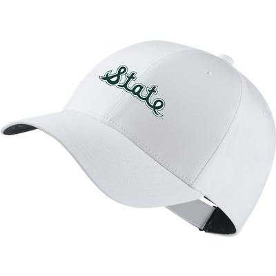 Michigan State Nike Golf Script State Dri-Fit Tech Cap