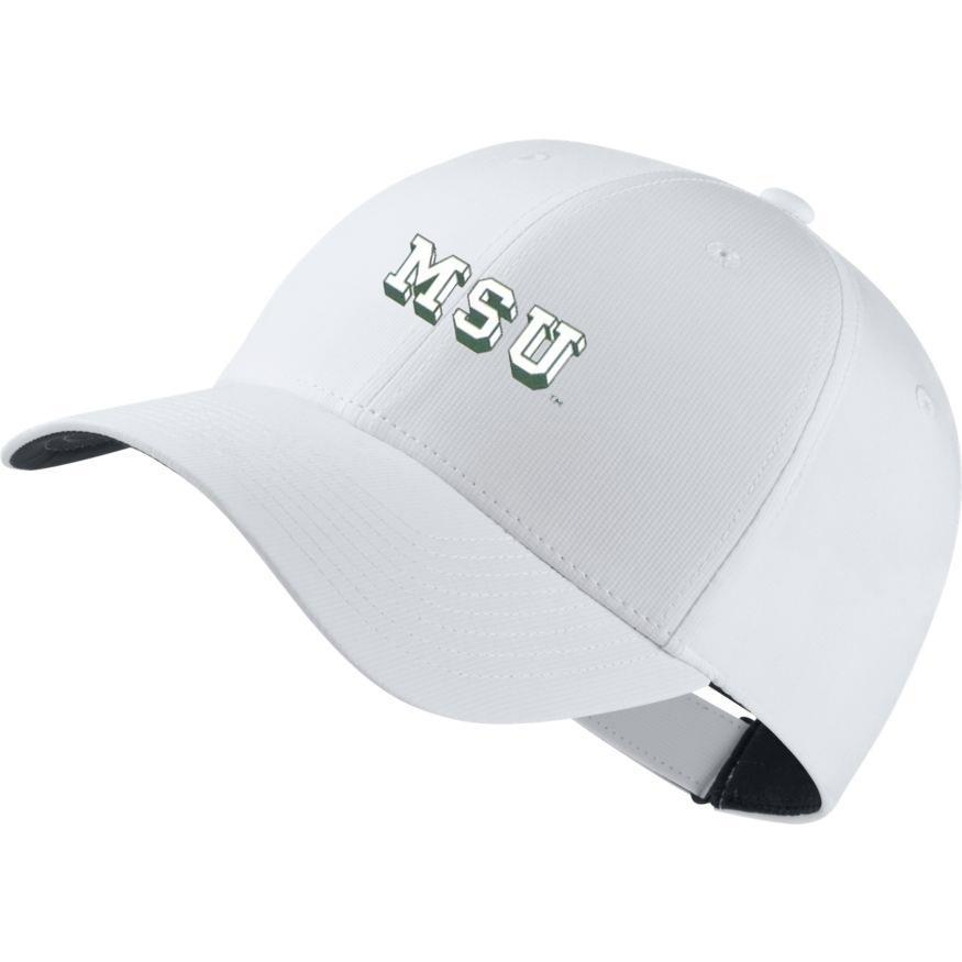 Michigan State Nike Golf Block Vault Dri- Fit Tech Cap