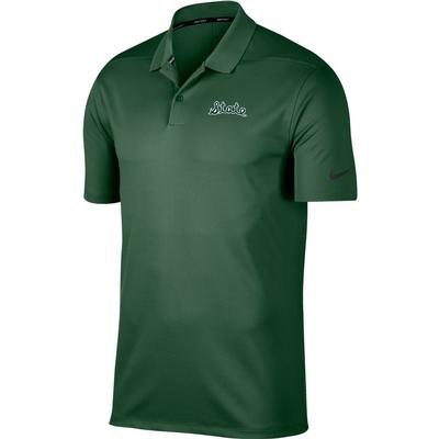 Michigan State Nike Golf Script State Victory Solid Polo