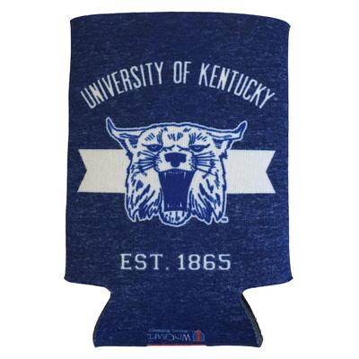 Kentucky Wildcat Vault Logo Can Cooler