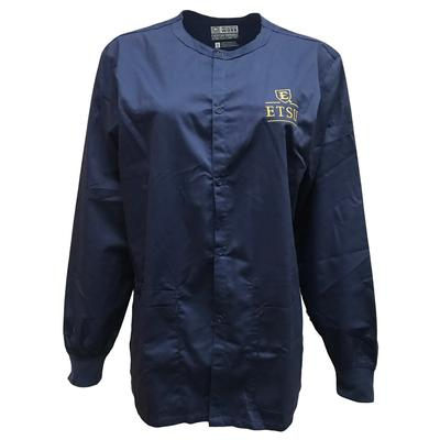ETSU Snap Front Jacket Scrub Top