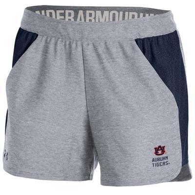 Auburn Under Armour Women's Play Up Logo Shorts