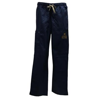 ETSU Women's Cargo Pocket Straight Leg Scrubs
