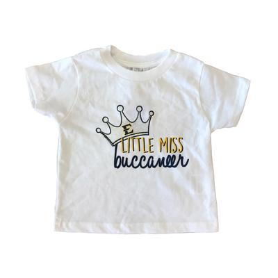 ETSU Toddler Little Miss Tee