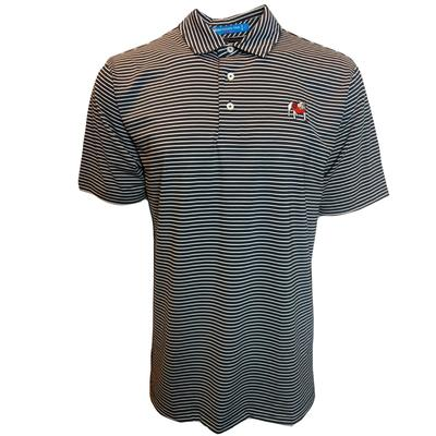 Georgia Southern Tide Gameday Stripe Polo