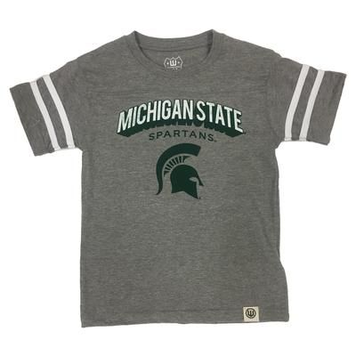 Michigan State Boys Backfield Ringed Tee