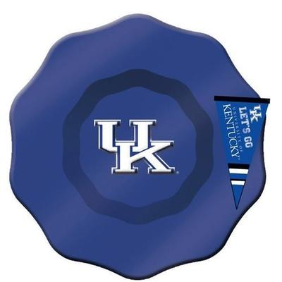 Kentucky Wildcats Glass Dip Bowl