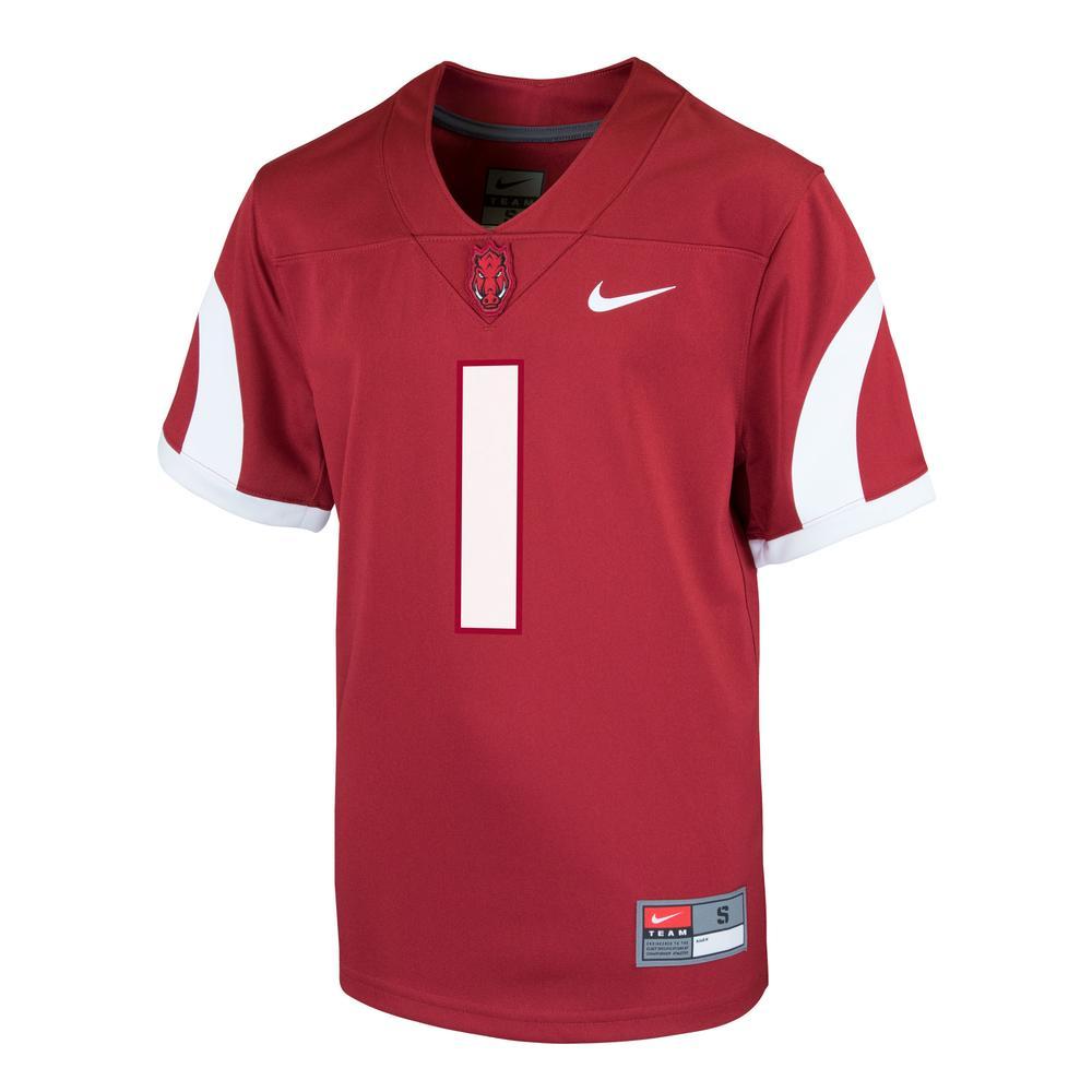 Arkansas Nike Youth Replica Jersey