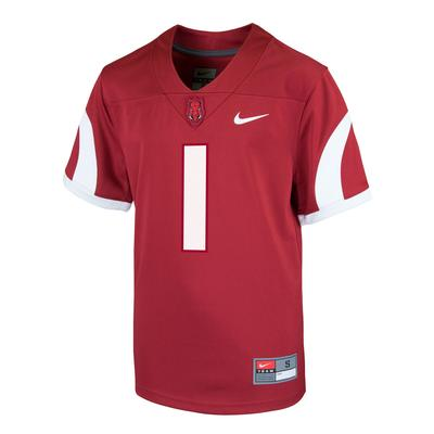 Arkansas Nike Youth Replica Jersey