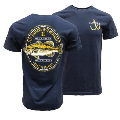 ETSU Comfort Colors Get Hooked On The Bucs Tee