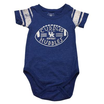 Kentucky Infant Sleeve Stripe Cuddles And Huddles Onesie