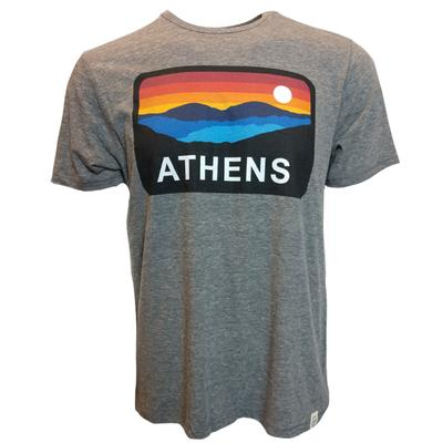 Athens Horizon Short Sleeve Triblend Tee