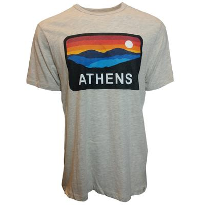 Athens Horizon Short Sleeve Triblend Tee