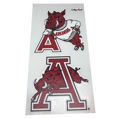Arkansas 2 Pack Vault Logo Decals