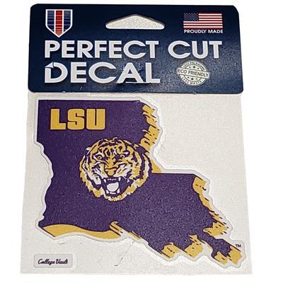 LSU Vault Logo Decal