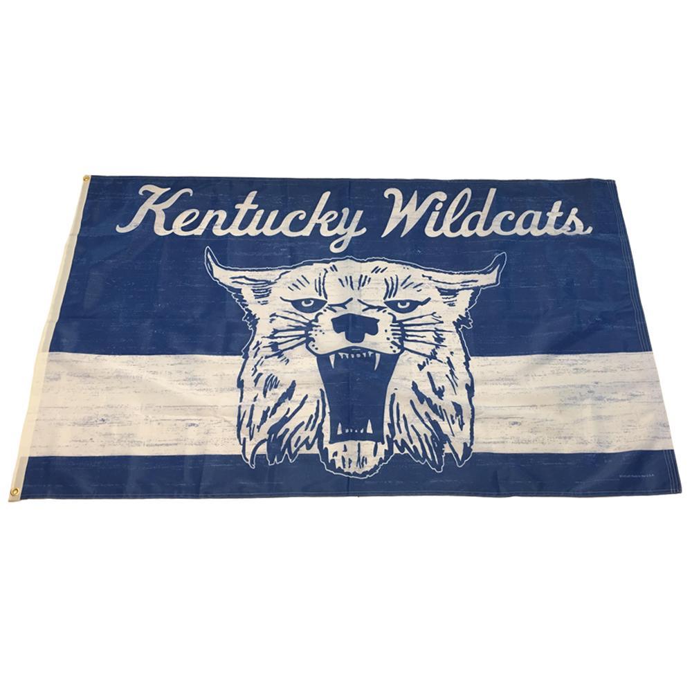 Kentucky Vault Wildcat House Flag (3 ' X5 ')