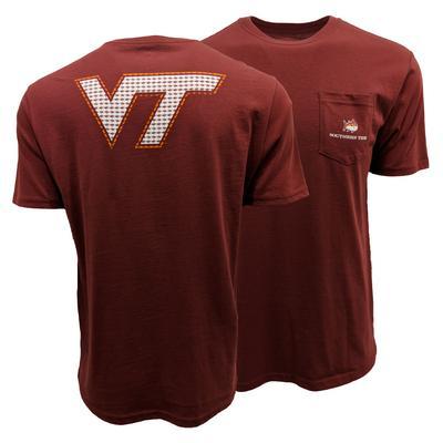 Virginia Tech Southern Tide Skipjack Fill T-Shirt