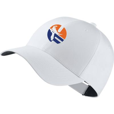 Florida Nike Golf Pell Logo Dri-Fit Tech Cap WHITE
