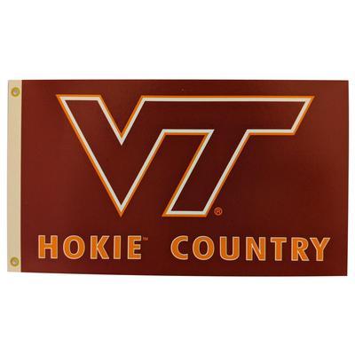 Virginia Tech Hokie Country House Flag