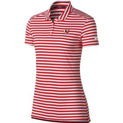 Georgia Nike Golf Women's Dry Striped Polo
