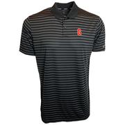 Georgia Nike Golf Block G Dry Victory Stripe Polo