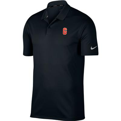 Georgia Nike Golf Block G Dry Victory Solid Polo