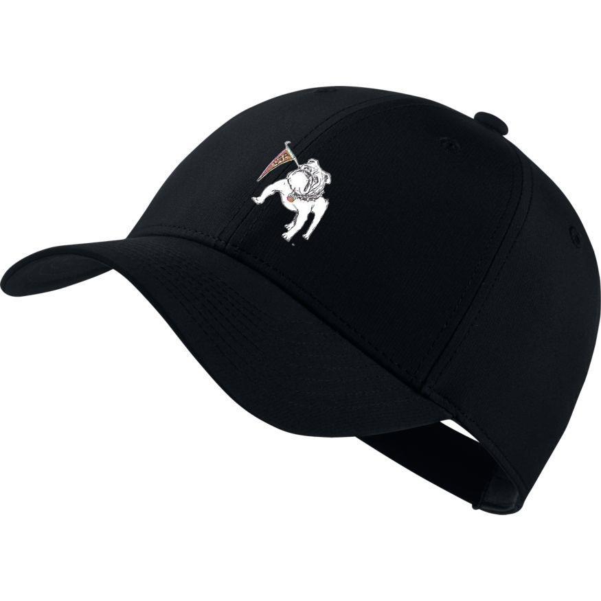 Georgia Nike Golf Vault Dawg Dri- Fit Tech Cap