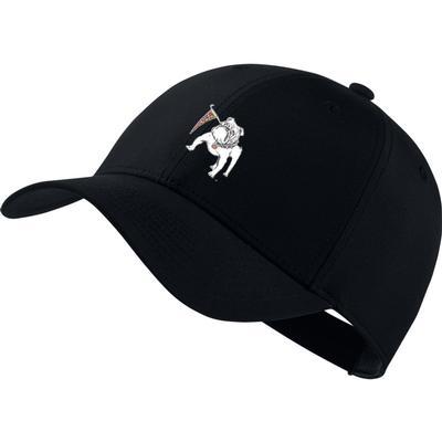 Georgia Nike Golf Vault Dawg Dri-Fit Tech Cap BLACK