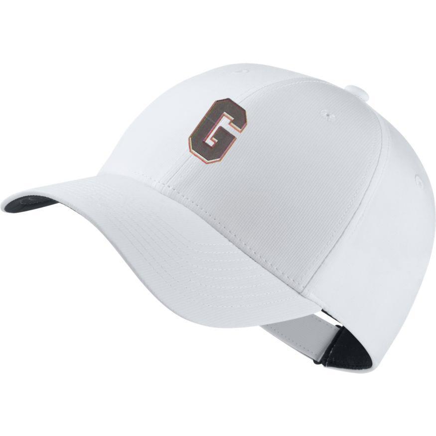 4af1f2a15 UGA - Georgia Nike Golf Block G Dri-Fit Tech Cap - Alumni Hall