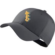West Virginia Nike Golf Stack Logo Dri- Fit Tech Cap