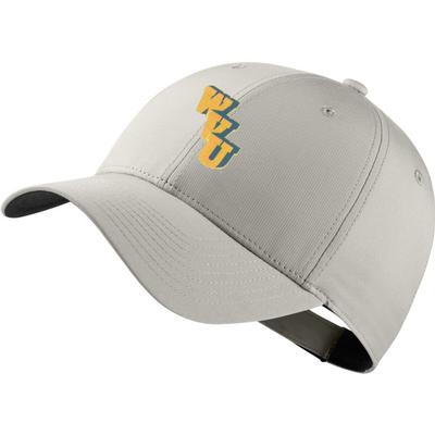 West Virginia Nike Golf Stack Logo Dri-Fit Tech Cap