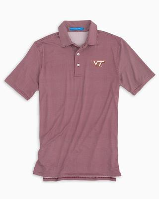 Virginia Tech Southern Tide Gameday Tattersall Polo
