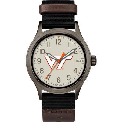 Virginia Tech Timex Clutch Watch
