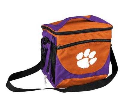 Clemson 24 Can Cooler With Bottle Opener