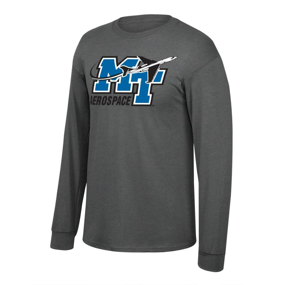 Mtsu Aerospace Long Sleeve T- Shirt