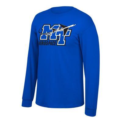 MTSU Aerospace Long Sleeve T-shirt ROYAL