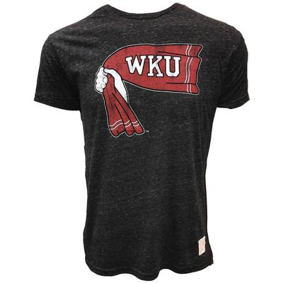 Western Kentucky Retro Brand Rally Towel Streaky Tee