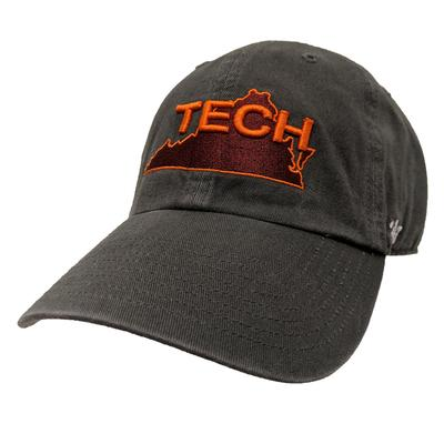 Virginia Tech Tech State Vault Logo Adjustable Hat