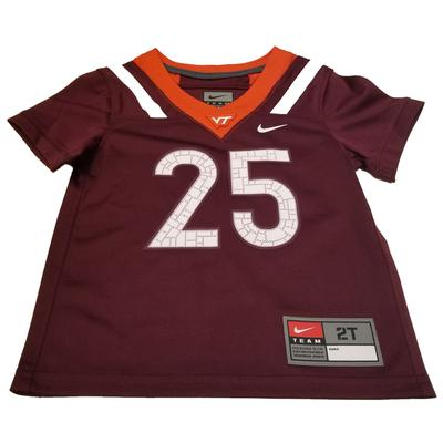 Virginia Tech Nike Toddler Replica Jersey