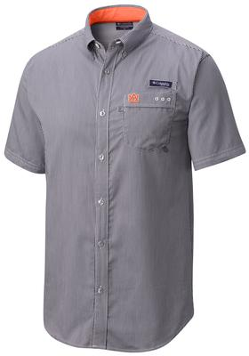 Auburn Columbia Super Harborside Short Sleeve Shirt