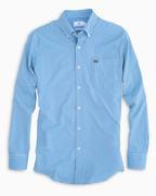 Florida Southern Tide Gingham Intercoastal Woven Shirt