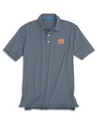 Auburn Southern Tide Gameday Stripe Polo NAVY