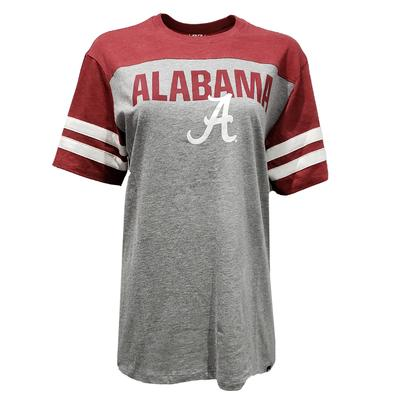 Alabama 47 Versus Club Ringed Short Sleeve Tee