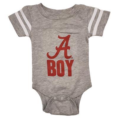 Alabama Script A Boy Onesie