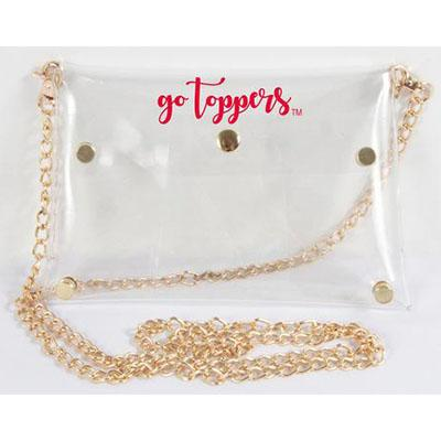 Western Kentucky Gold Chain Clear Stadium Purse